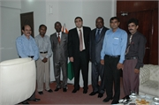 025_Staff Members of Consulate with Ambassador, Dy. Director & Hon. Consul