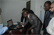 026_Innaugrating the official Website of Consulate on 24-5-2010